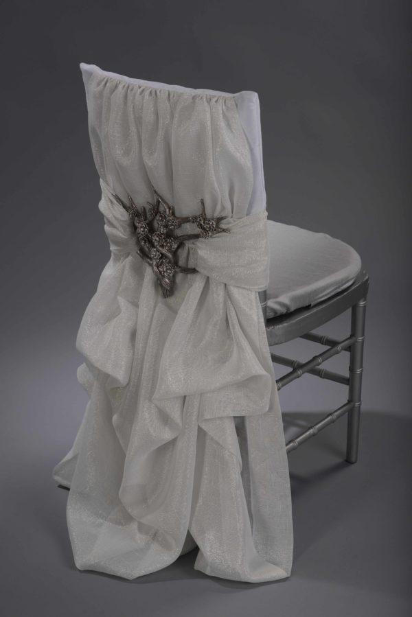 Silver Blossom Interlace