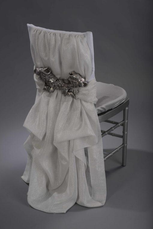 Silver Rose Interlace
