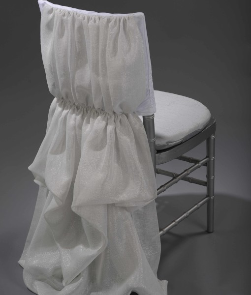 white athena chair cover