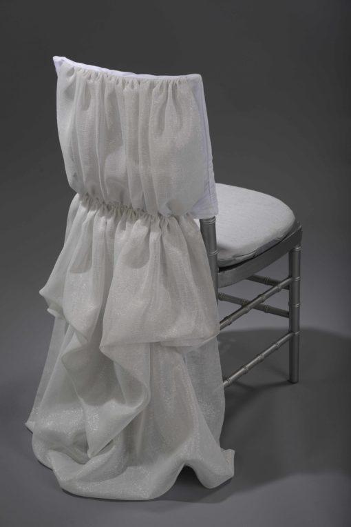white athena chair cover