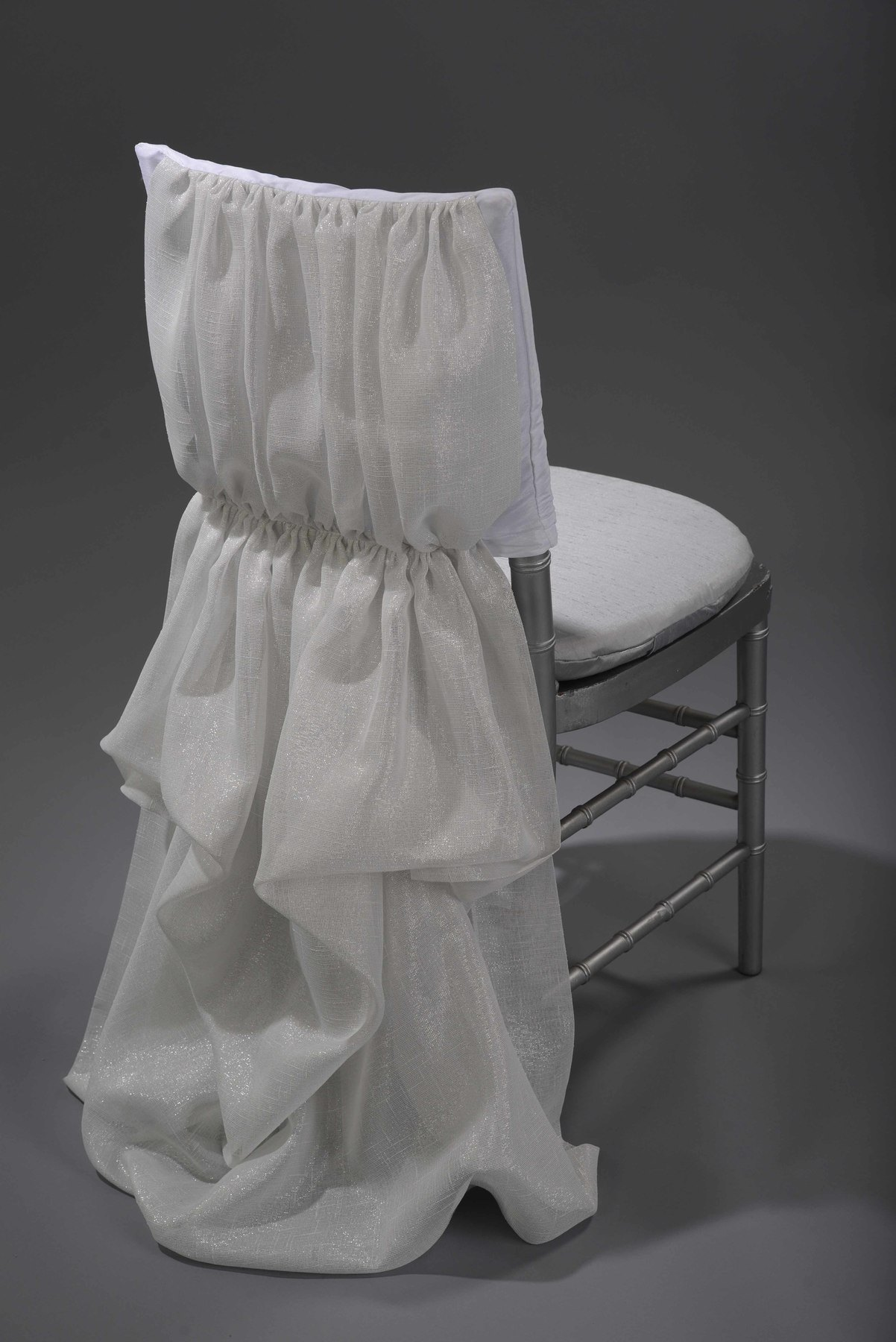 White Athena Chair Cover Nüage Designs