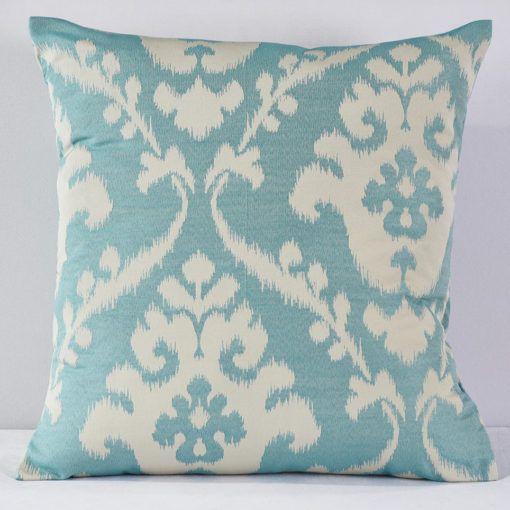 Aqua Palomino Pillow - Reverse