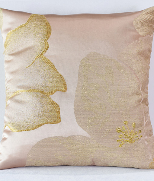 Blush Gardenia Pillow