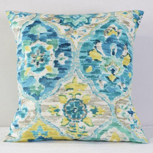 Carribean Blue Alibaba Pillow