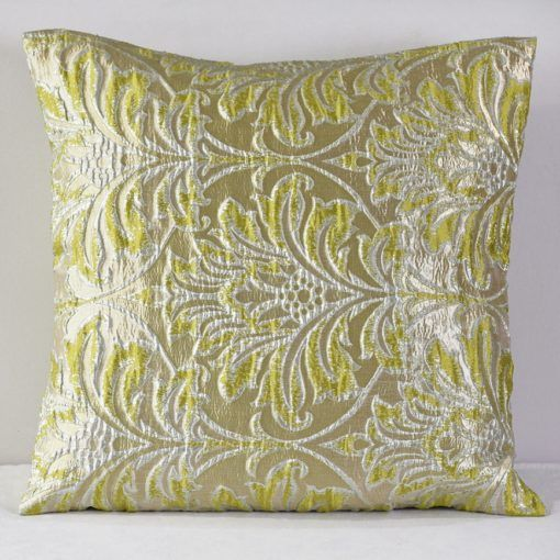 Green Freeze Savoy Pillow