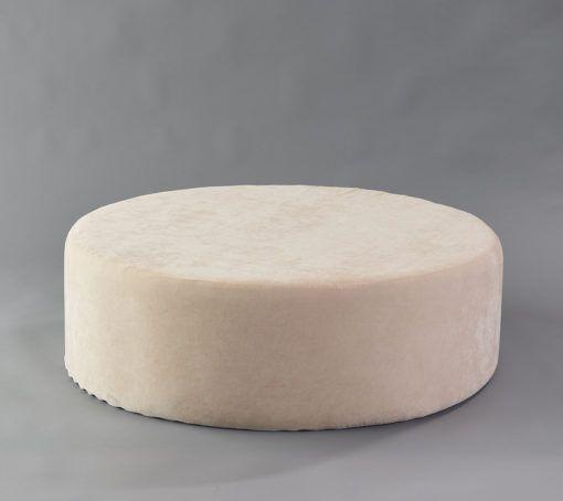 Ivory Milano Ottoman 48 R