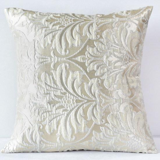 Ivory Savoy Pillow