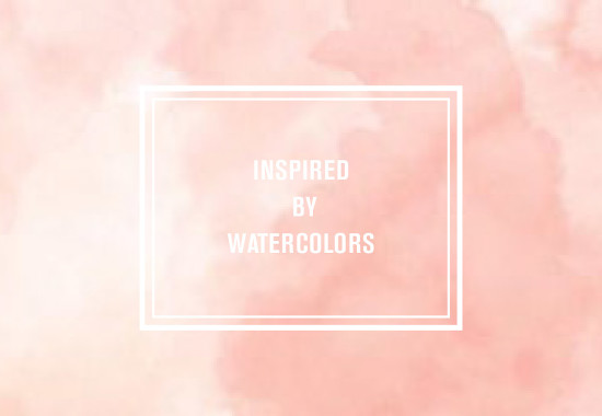 Nuage Designs Watercolor Wedding