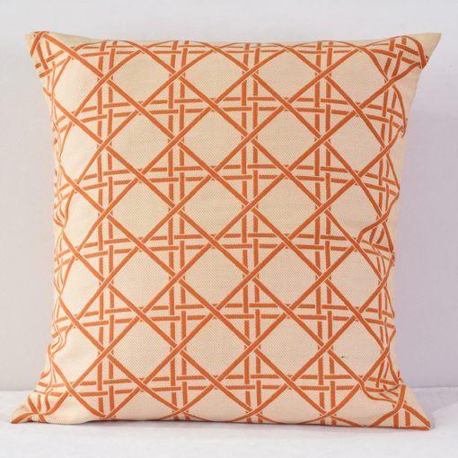 Orange Barboza Pillow - reverse