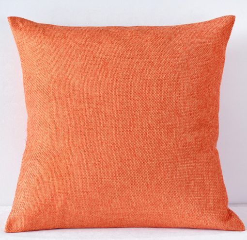 Orange Harmony Pillow
