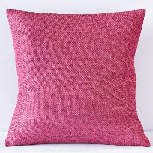 Raspberry Oxford Pillow