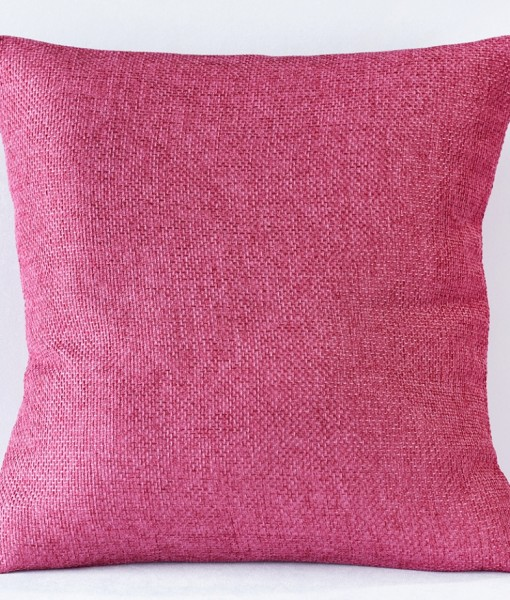 Raspberry Oxford Pillow