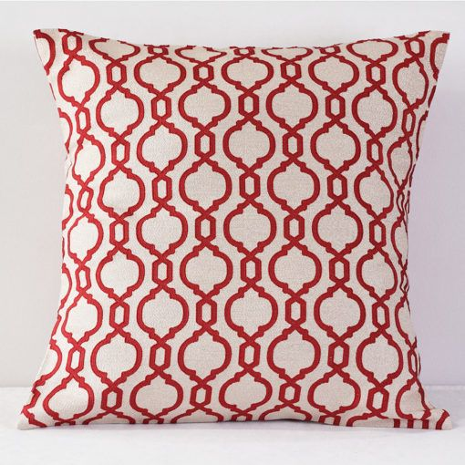 Raspberry Venetian  Pillow