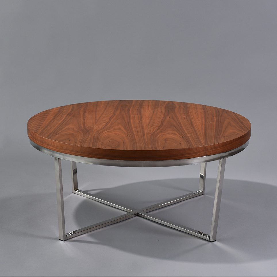 Round Wood Coffee Table N Age Designs