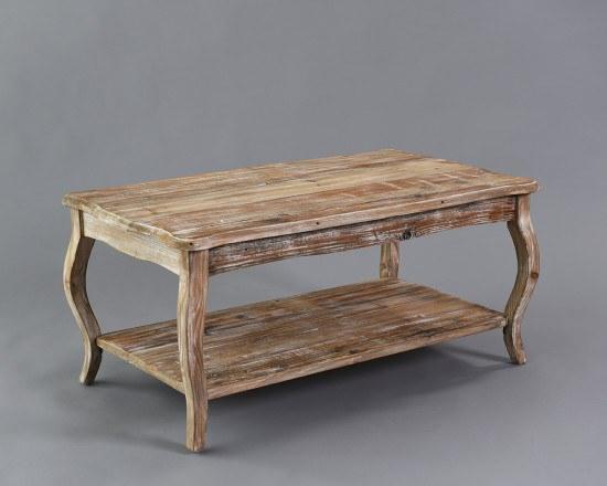 Vintage Wood Coffee Table  2
