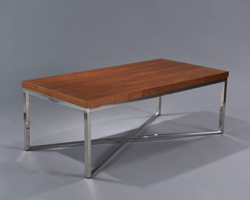 Wood Parson Coffee Table  2