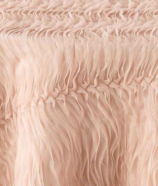 Blush Tulle Wave