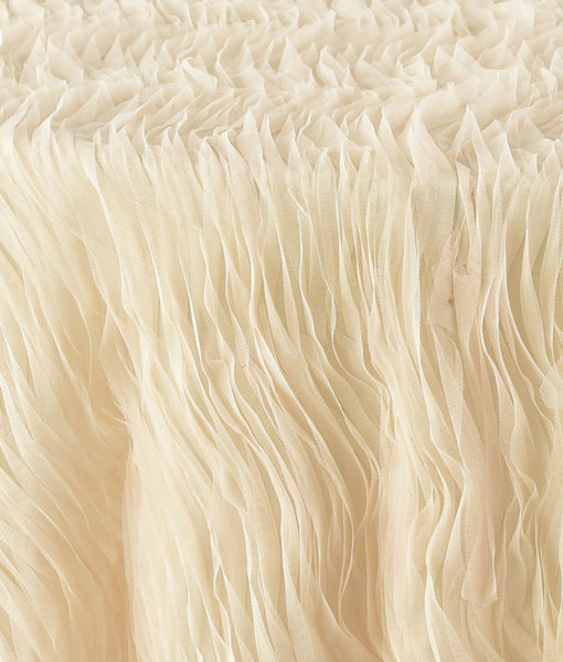 Parchment Tulle Wave
