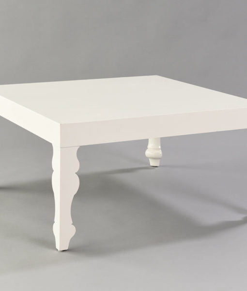 Louis Pop White Coffee Table