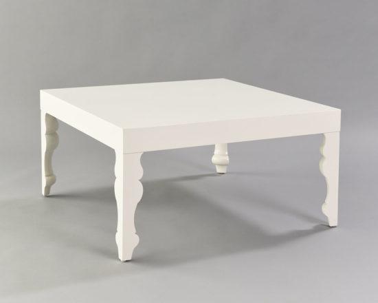 Louis Pop White Coffee Table