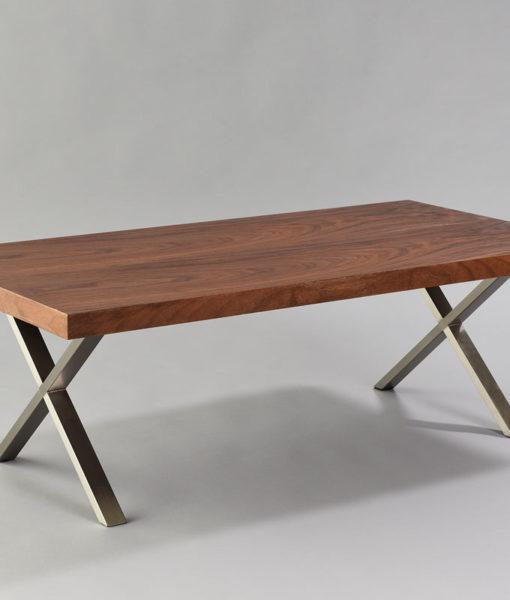 Walnut X Coffee Table