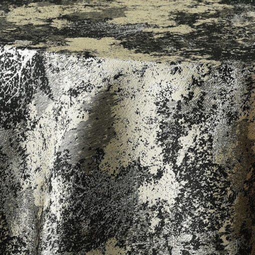 black metallic forest - close up