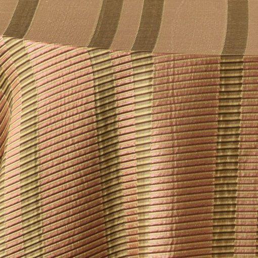 copper metallic stripe - close up