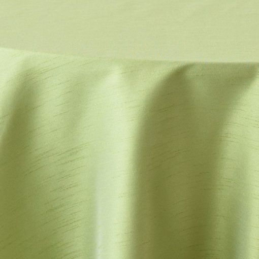 kiwi faux dupioni close up