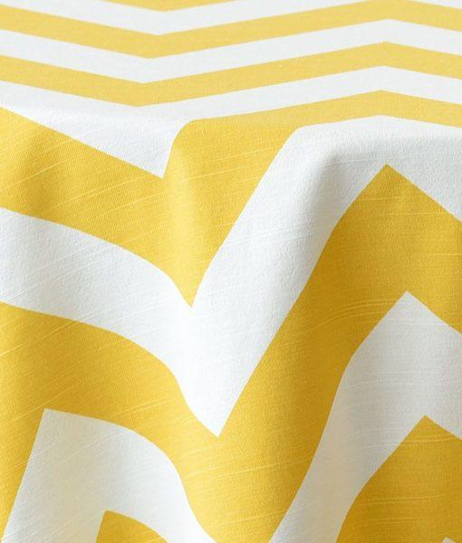 yellow chevron close up