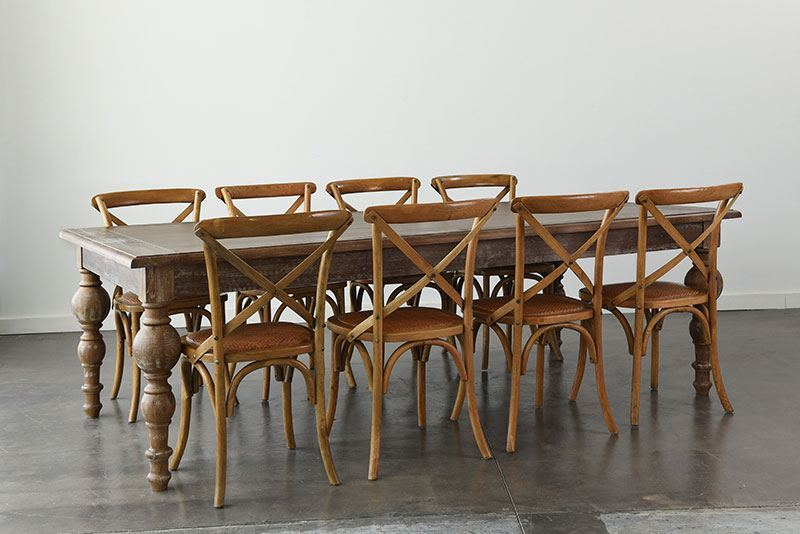 Maison Dining Table 96 X 48 30 H With Chairs Add To Wishlist Loading