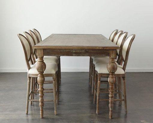 maison high table 96 x 48 x 42H _