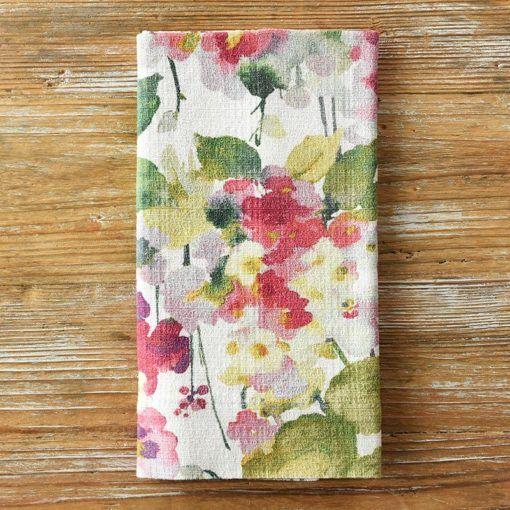Floral Monet Napkin