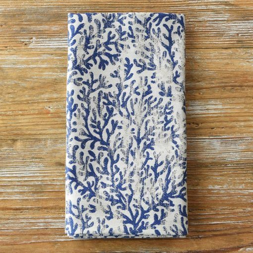 Navy Beachfront Napkin