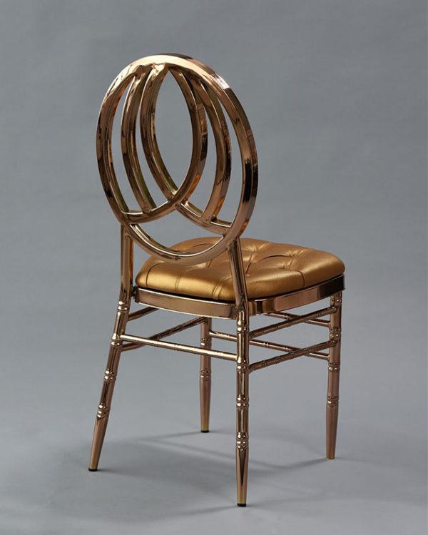 rose gold phoenix chair
