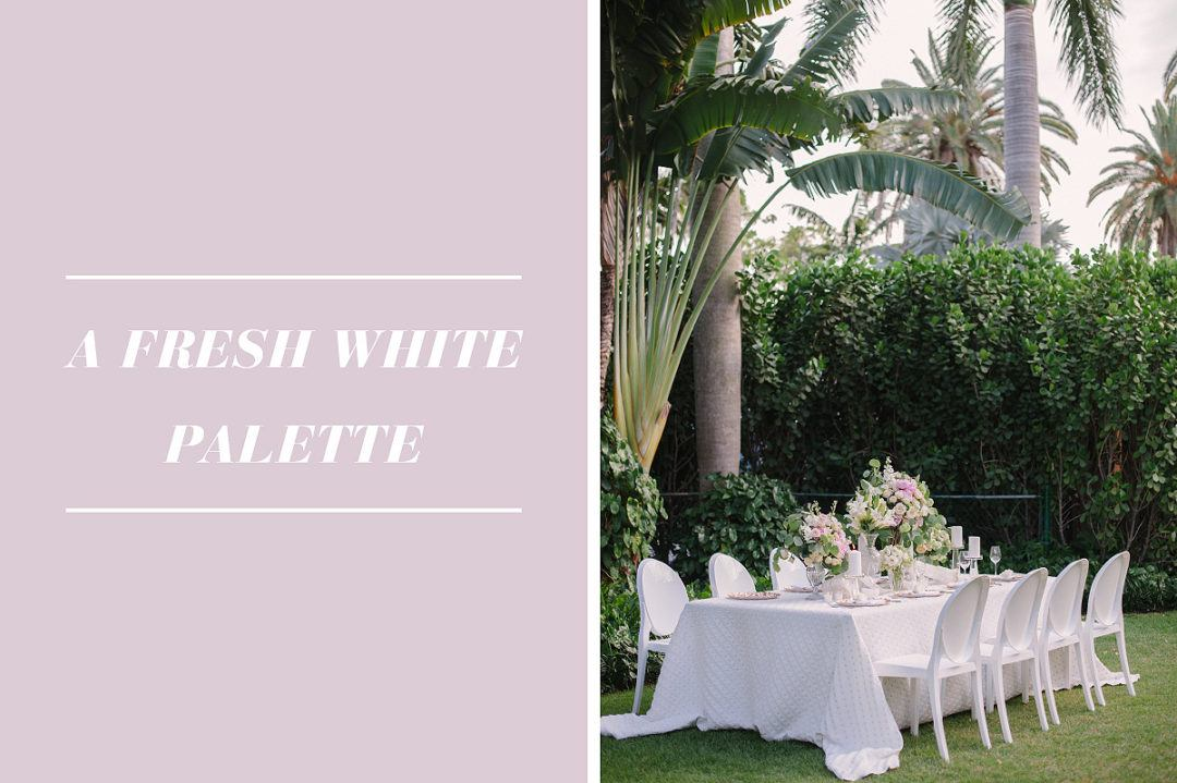 Inspirational tips for a timeless all white wedding design inspirational tips for a timeless all white wedding design junglespirit Image collections