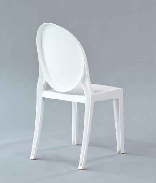 white mirage chair