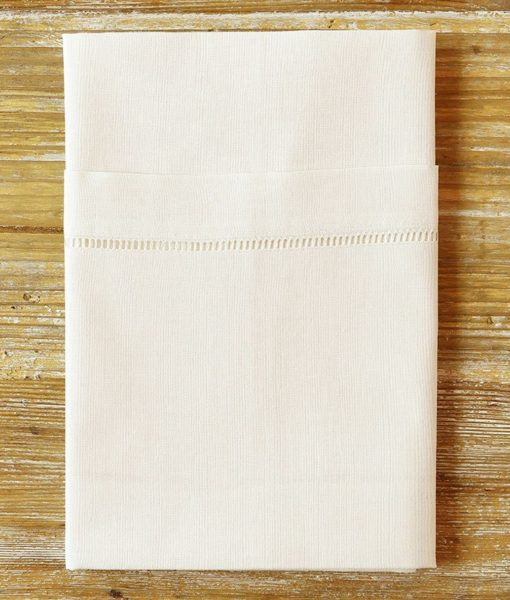 ivory hemstitch napkin