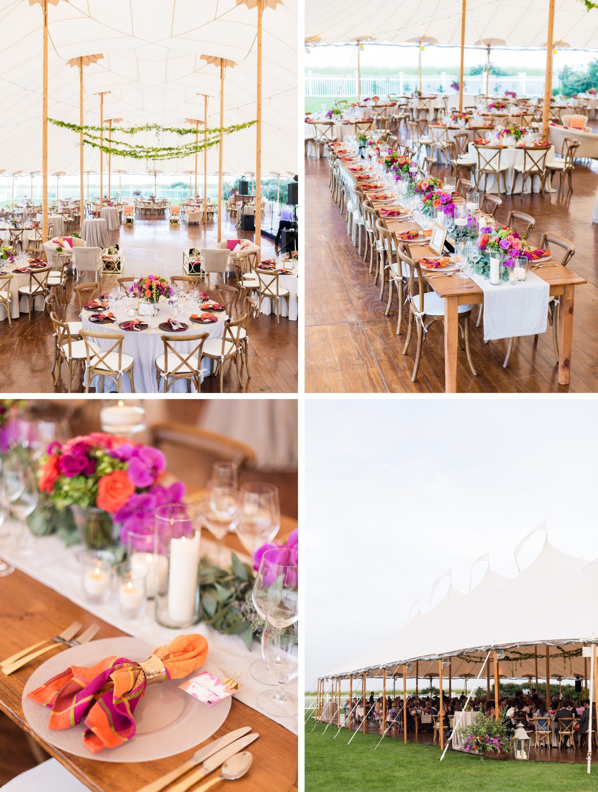 Cape Cod Wedding Ideas Part - 17: As Guests Got Ready To Dance The Evening Away, Our Fire Metropolitan And  Beige Chained Linens Were Scattered Around For Cocktails And Lounge Seating  Lined ...