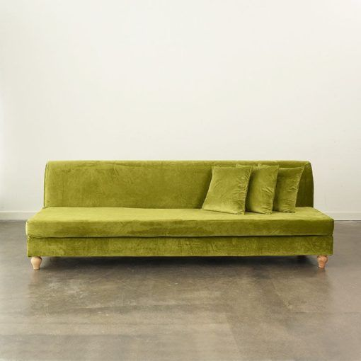 Grass Velluto 8' Sofa