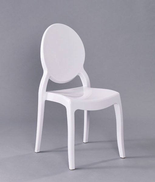 White Mirage Chair