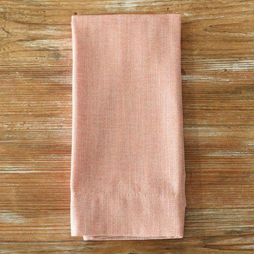 Blush Metallic Burlap Napkin