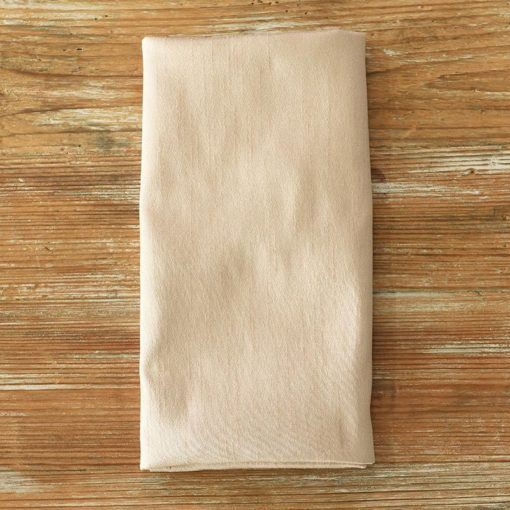 Sultry Beige Faux Dupioni Napkin