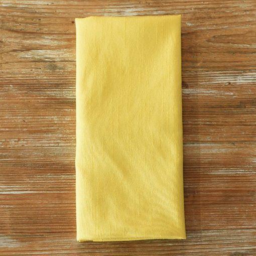 Baja Maize Faux Dupioni Napkin