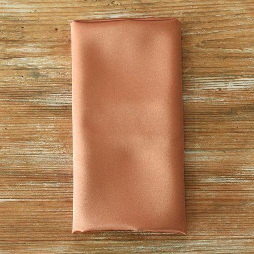 Copper Penny Satin Napkin