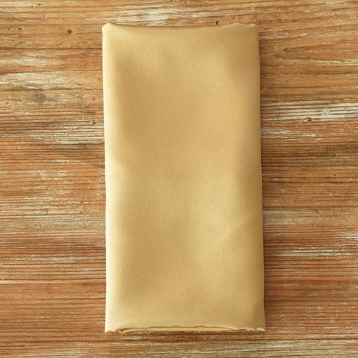Victorian Gold Satin Napkin