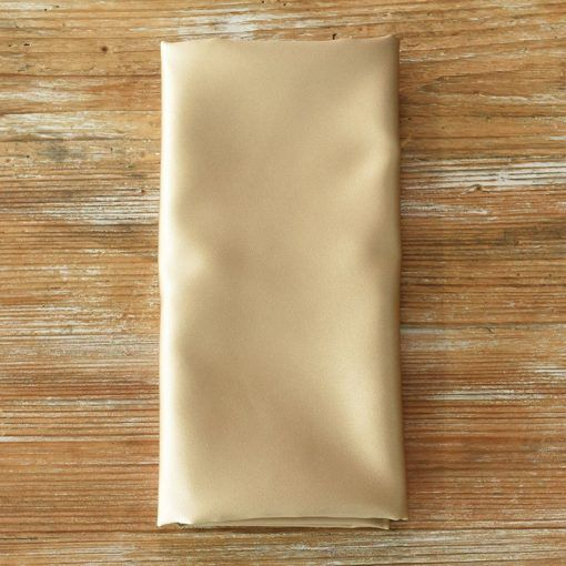 Goldmine Satin Napkin