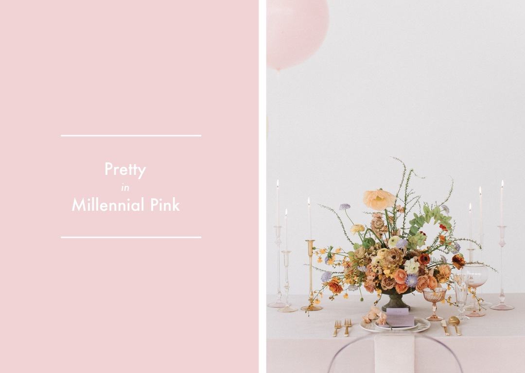 Pastel Color Inspiration For Modern And Whimsical Weddings