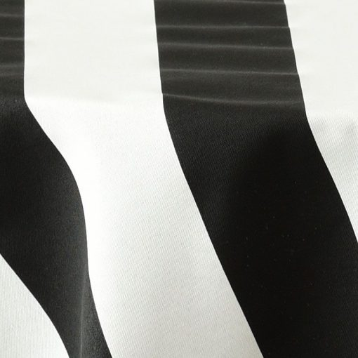 black awning stripe closeup