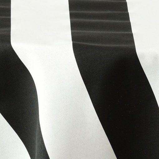 black awning stripe closeup
