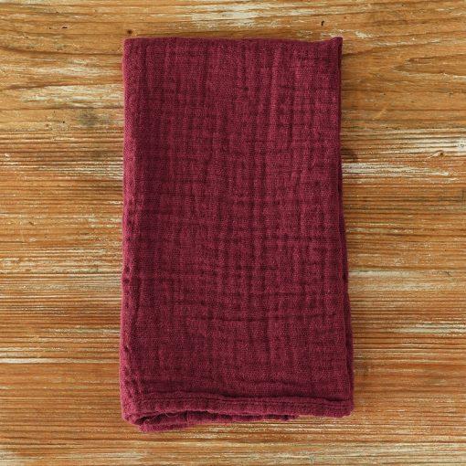 Plum Terra napkin